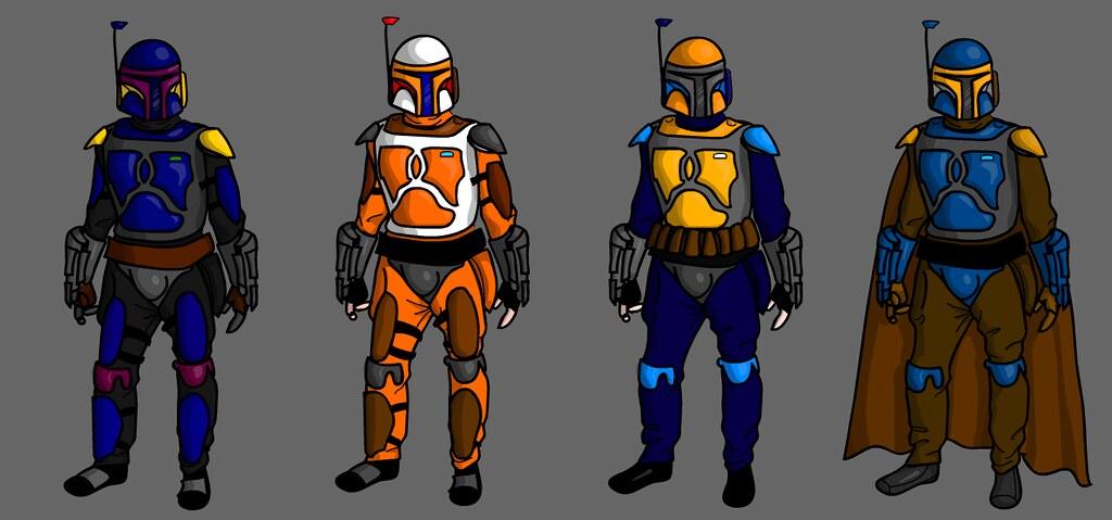 Mandalorian Armor Colors ASneary Flickr