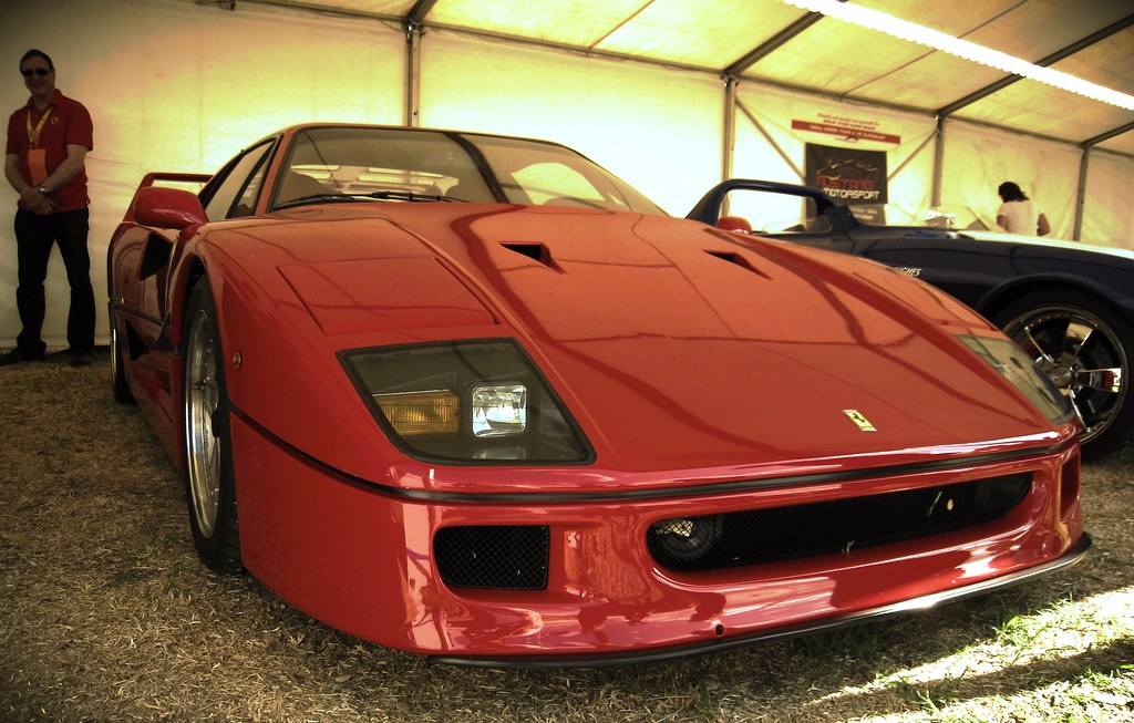 ferrari f40 at the australian f1 grand prix ferrari f40 at flickr. Black Bedroom Furniture Sets. Home Design Ideas