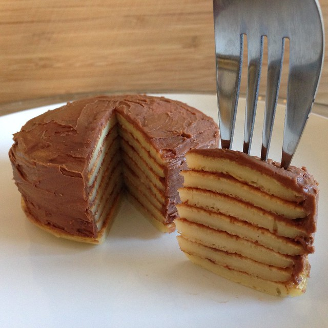 Crepe Cake Nutella Recipe
