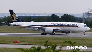 Singapore A350-941 msn 031