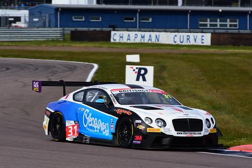 Rick Parfitt - Seb Morris, Bentley Continental GT3, British GT Championship, Rockingham 2016