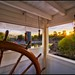 Sunset in the Wheelhouse