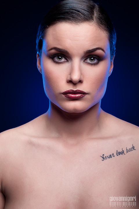 Taken From Professional Modeling Portfolio Of