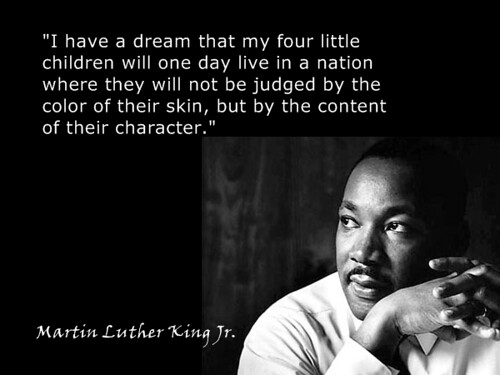 what is martin luther kings thesis in i have a dream This thesis entitled: american prophet: martin luther king, jr written by sakuma semba has been approved for the department of religious studies he told of his dream that one day america would rise up and treat all its citizens as equals before the law and in the heart martin luther king's dream was.
