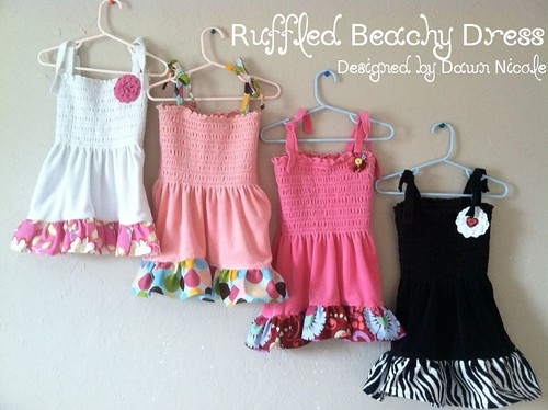 Ruffled Beachy Dress | by DesignedbyDawnNicole