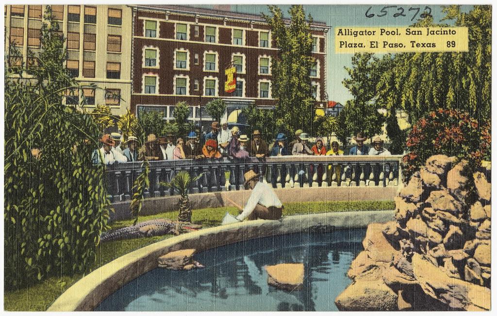 Alligator Pool San Jacinto Plaza El Paso Texas 89 Flickr