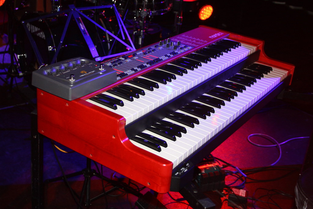 Hammond organ key generator