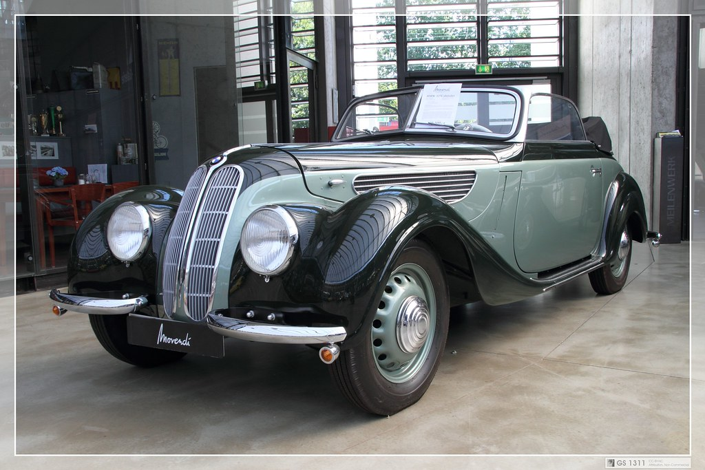 1937 Bmw 327 Cabriolet 14 The Bmw 327 Is A Medium Sized Flickr