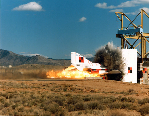 1988 rocket-sled test | by SandiaLabs