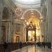 A l'intérieur de la basilique Saint-Pierre