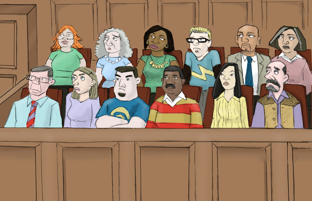 Jury | This is an illustration by Eric Molinsky from the ...
