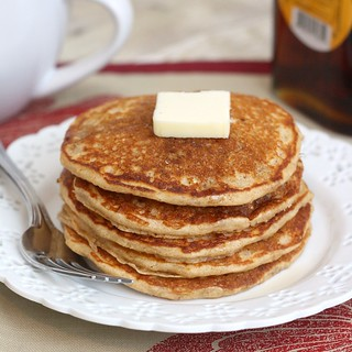Whole Wheat Oatmeal Pancakes | by Tracey's Culinary Adventures