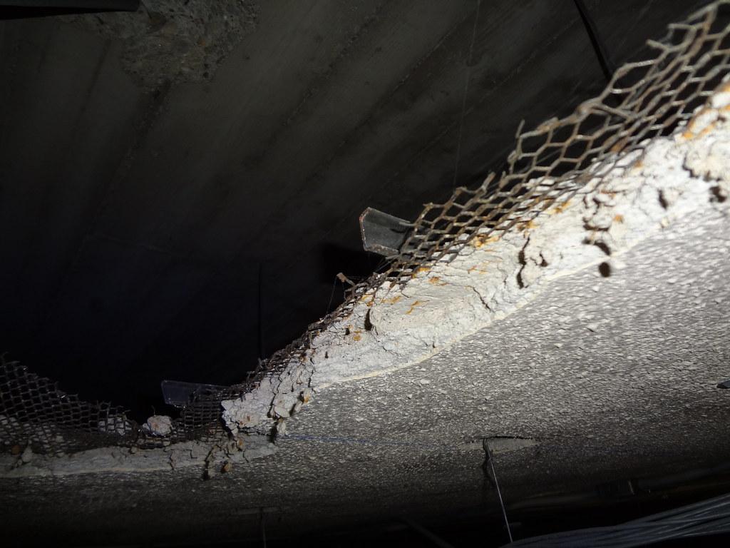 Acoustical Asbestos Plaster Surfacing Asbestorama Flickr