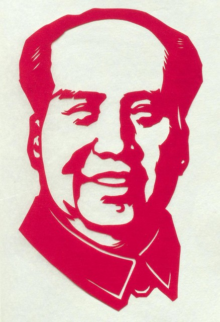 Mao Tse-tung Paper Cutting 1]