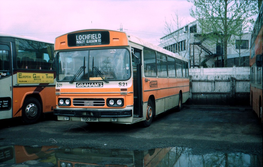 Leyland Leopard Duple Dominant Bus TGD 219R | Seen at the ...