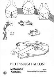 Millennium Falcon origami diagram coming next. | Wait a ... - photo#13