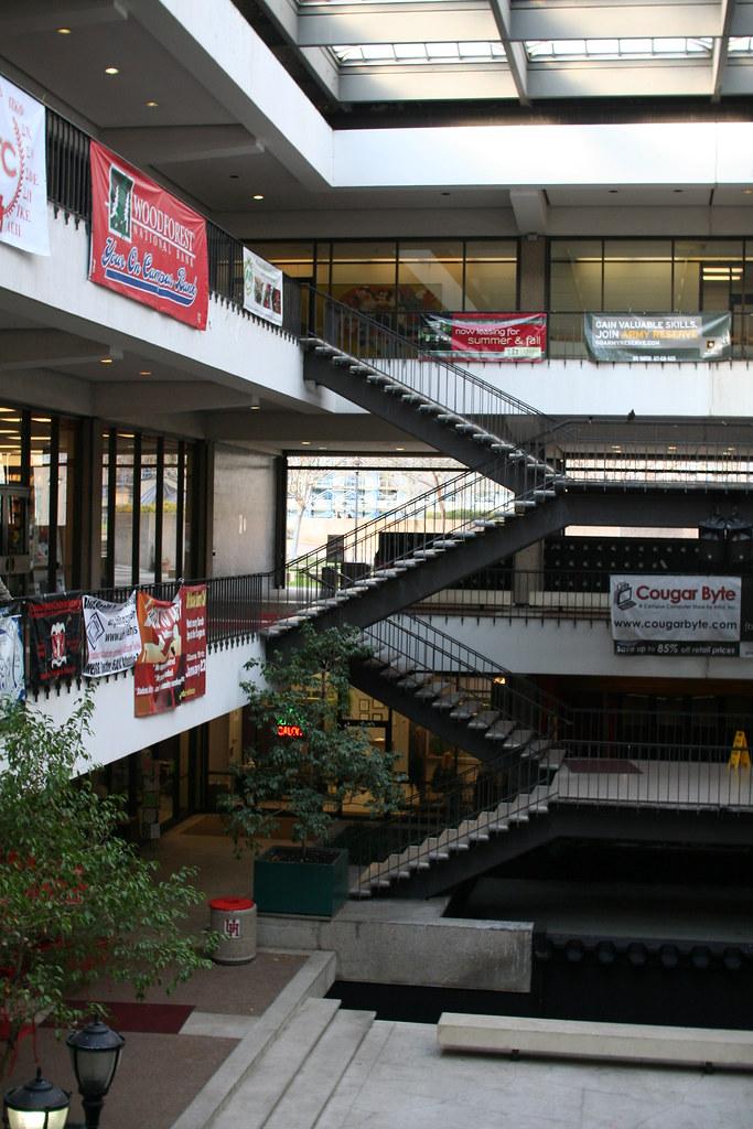 University of Houston Student Center central atrium area no. 6865 ...