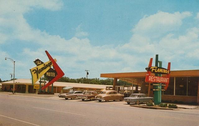 The Flamingo Motel Amp Restaurant Elk City Oklahoma