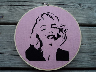 Marilyn embroidery | by cappywanna