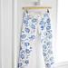 DIY Floral Jeans - gun vase