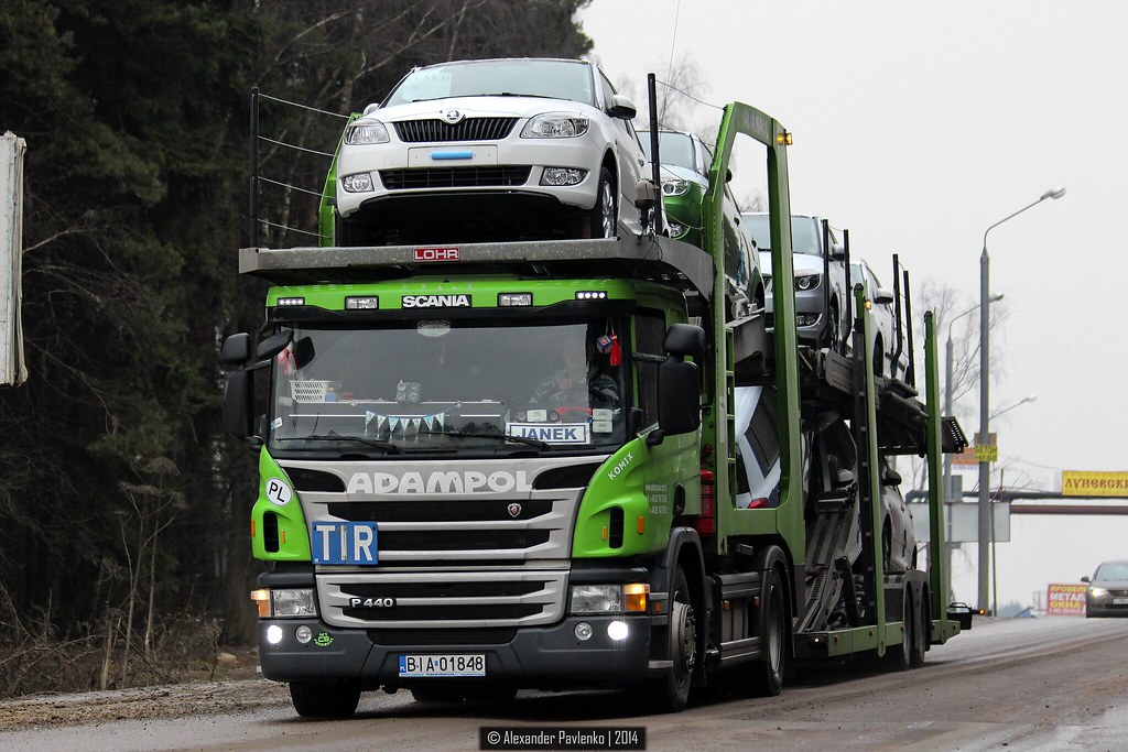 Scania P440 Pl Adampol Alexander Pavlenko Flickr