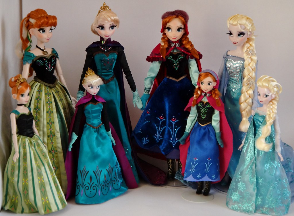 Coronation Anna And Elsa And Snow Anna And Elsa 11 5 And