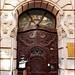 Art Nouveau building - portal