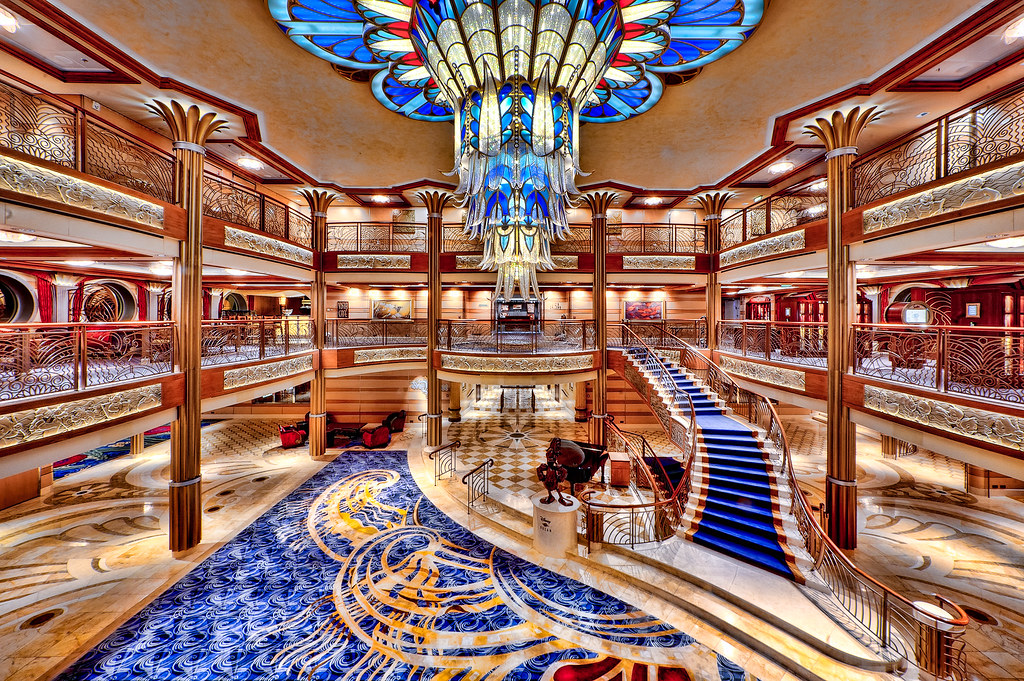 Disney Cruise Atrium Disney Dream Atrium