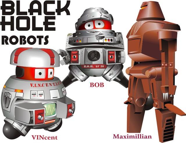 the black hole robots drones - photo #16