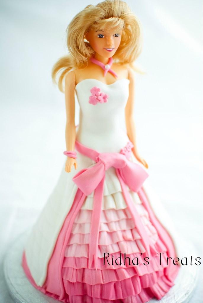 D Barbie Cake