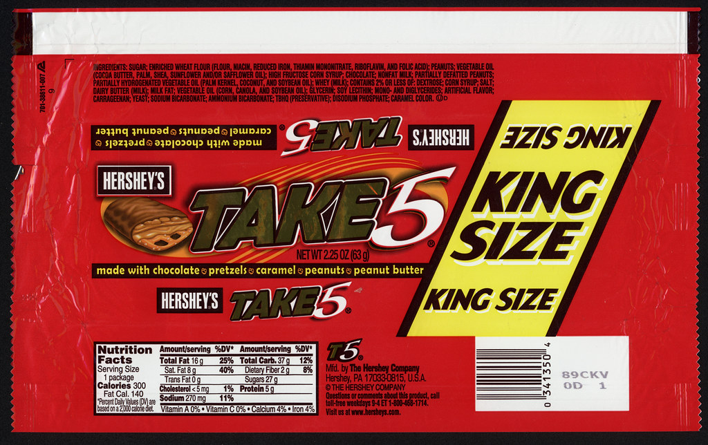 hershey candy bar wrappers