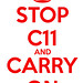 Stop C11 and Carry On