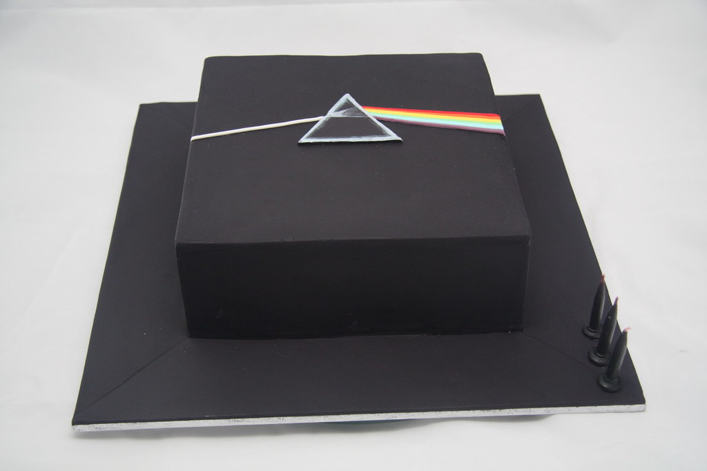 Pink Floyd Birthday Cake Hubz Is A Bit Of A Pink Floyd
