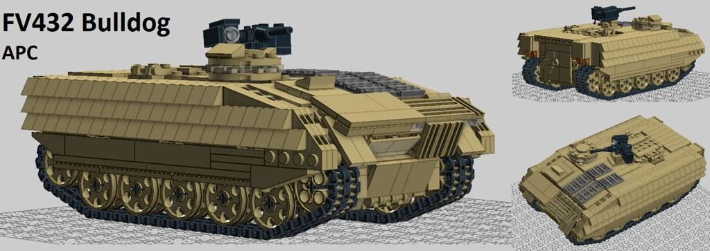 M113 For Sale >> FV432 Series 3 Bulldog (v2.0.1) | The FV430 series has serve… | Flickr