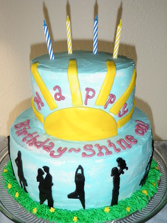 Shine Birthday Cake | by Sara'sCakes