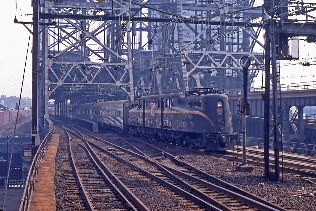 Used Cars In Nj >> PRR GG1 No. 4893 pulls passenger train at Newark NJ 1967 | Flickr