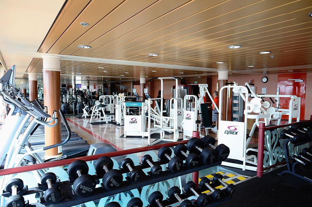 Norwegian sky fitness center love like you mean it