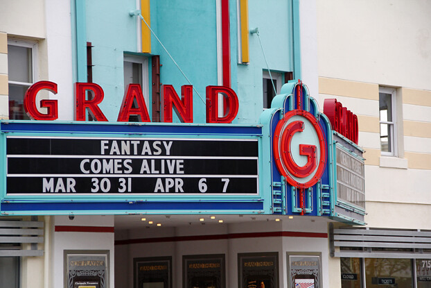 Grand Theatre Took A Little Trip Around Tracy Ca With