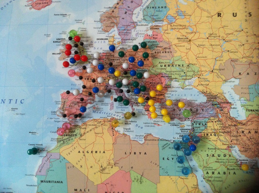 All sizes | Pin map Europe | Flickr - Photo Sharing!