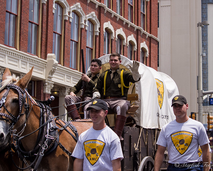 Riding Shotgun The Parsons Mounted Cavalry Is A Group Of