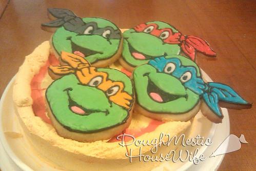 Birthday Ninja Cake