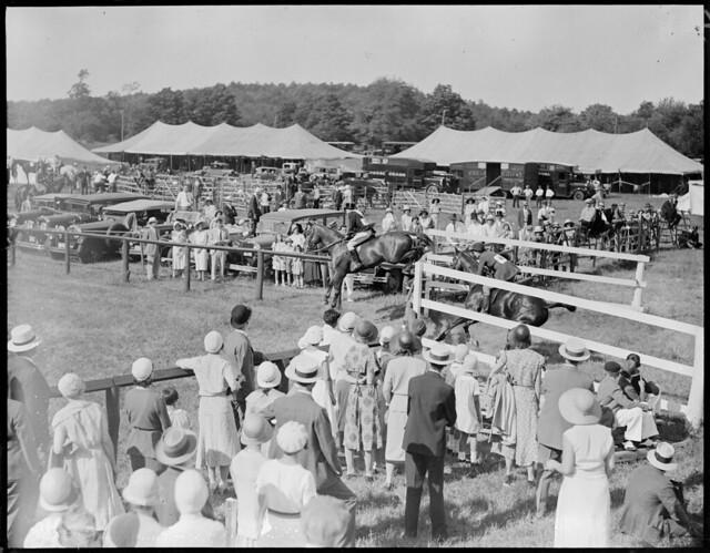 Millwood Hunt Club horse show, Framingham, Mass.