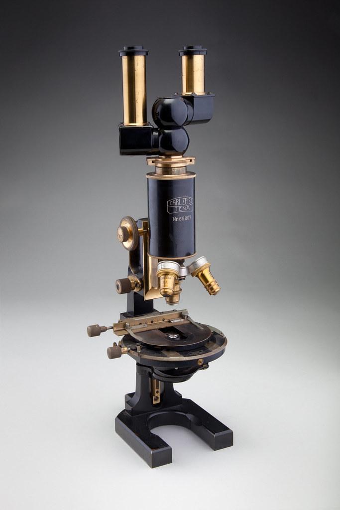 Binocular Compound Microscope Carl Zeiss Jena 1914 Flickr