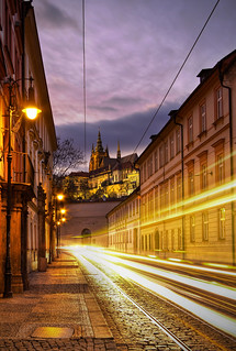 Prague Castle at Sunset | by Roman Betík