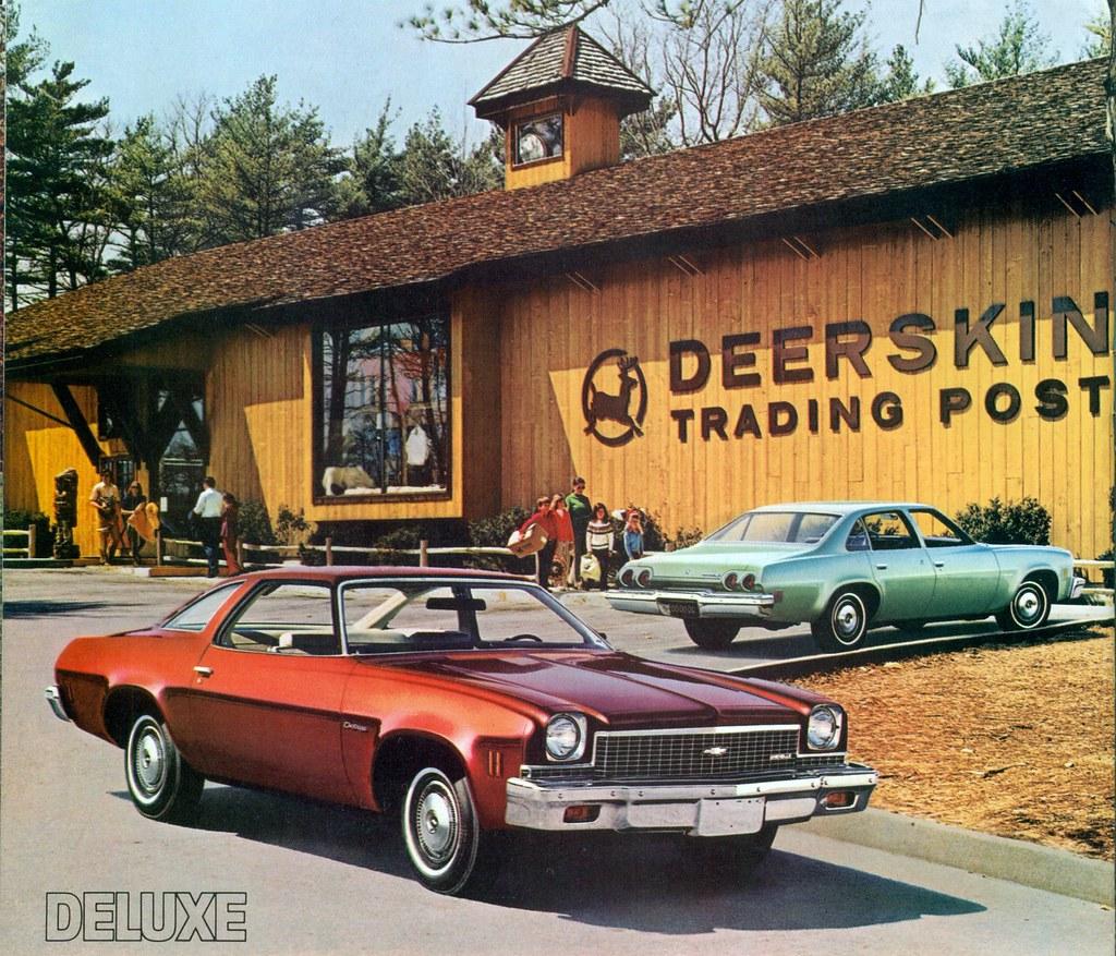 1973 Chevrolet Chevelle Deluxe Colonnade Hardtop Coupe