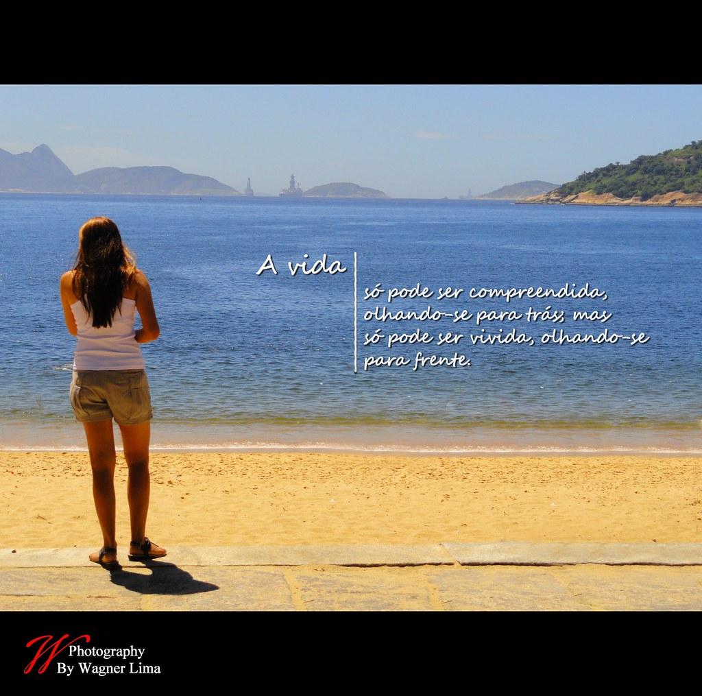 Luxo Frases Para Foto De Frente Para O Mar Frases De