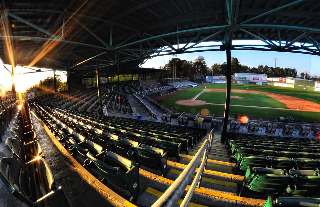Historic Grainger Stadium | Kinston, NC | Historic ...