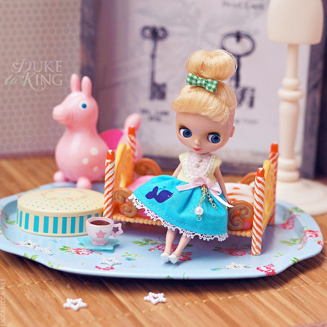 Sewing for Petite Blythe: Inspired by the Sea dress | Flickr