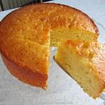 Getränkter Zitronenkuchen