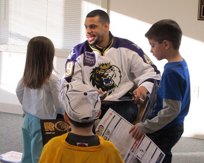 Read Across America with Manchester Monarch Player 14 | by Hampstead Public Library